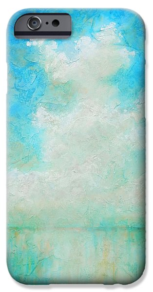 Clouds iPhone Cases - Coastal iPhone Case by Pam Talley