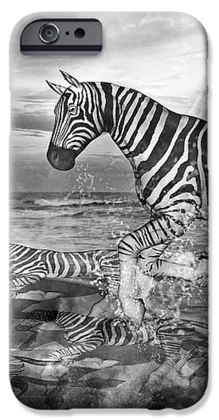 Coastal Stripes II iPhone Case by Betsy A  Cutler