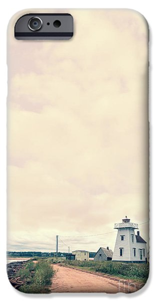 Prince iPhone Cases - Coastal Town iPhone Case by Edward Fielding