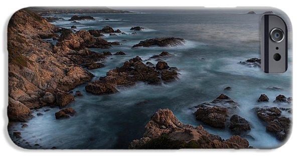 Big Sur Beach iPhone Cases - Coastal Tranquility iPhone Case by Mike Reid