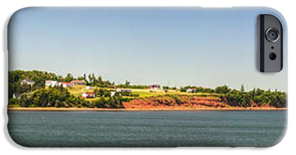 North Sea iPhone Cases - Coastal view of Prince Edward Island Canada iPhone Case by Elena Elisseeva
