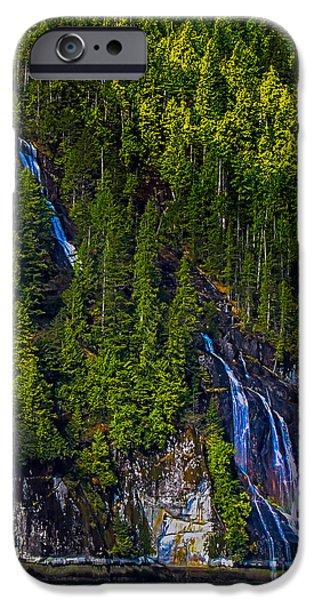 Coastal Waterfall iPhone Case by Robert Bales