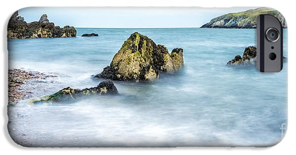 Headland iPhone Cases - Coastline iPhone Case by Adrian Evans