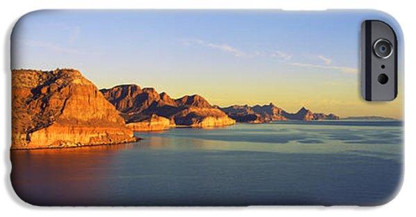 Baja iPhone Cases - Coastline, Gulf Of California, Baja iPhone Case by Panoramic Images