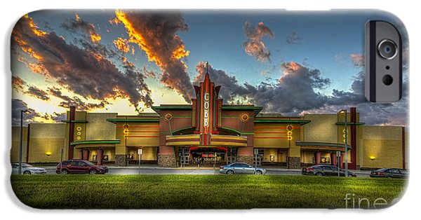 Big Screen iPhone Cases - Cobb Theater iPhone Case by Marvin Spates