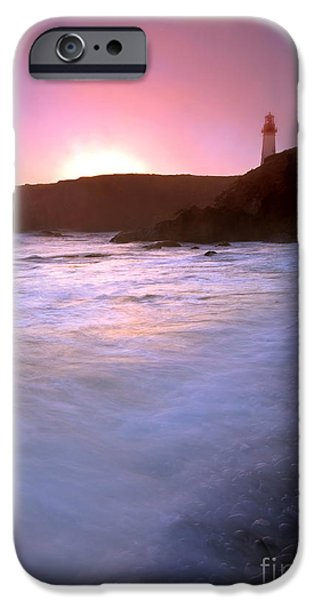 Mist iPhone Cases - Cobble Beach Sunset iPhone Case by Mike  Dawson