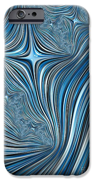 Chaos iPhone Cases - Cobolt Scream iPhone Case by John Edwards