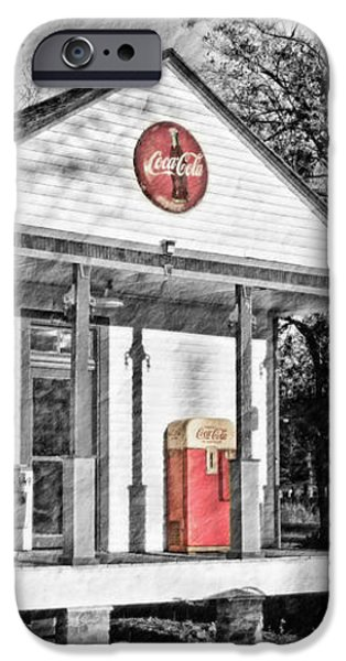 Coca Cola in the Country iPhone Case by Scott Pellegrin