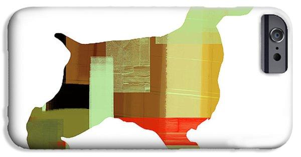 Spaniel Puppy iPhone Cases - Cocker Spaniel 1 iPhone Case by Naxart Studio
