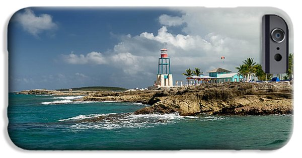 Private Island iPhone Cases - Coco Cay Bahamas iPhone Case by Amy Cicconi