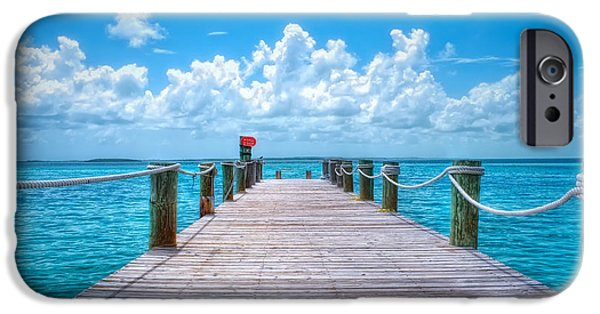 Michael Versprill iPhone Cases - CocoCay Bahamas  iPhone Case by Michael Ver Sprill