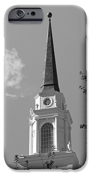 Presbyterian iPhone Cases - Coe College Sinclair Auditorium iPhone Case by University Icons