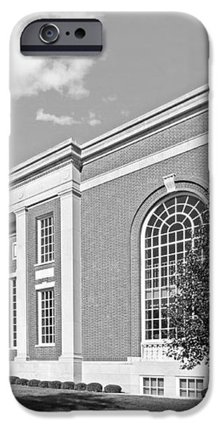 Coe College Stewart Memorial Library iPhone Case by University Icons