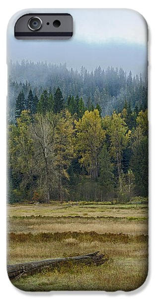 Coeur d Alene River Farm iPhone Case by Idaho Scenic Images Linda Lantzy