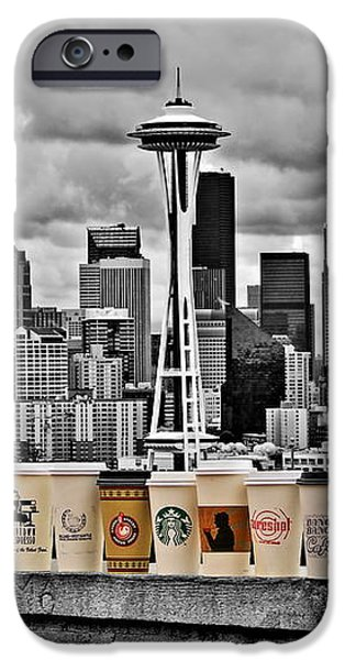 Coffee Capital iPhone Case by Benjamin Yeager