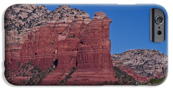 Recently Sold -  - Sedona iPhone Cases - Coffee Pot Rock iPhone Case by Photography by Laura Lee
