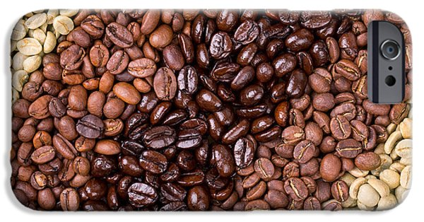 Aromatic iPhone Cases - Coffee selection iPhone Case by Jane Rix