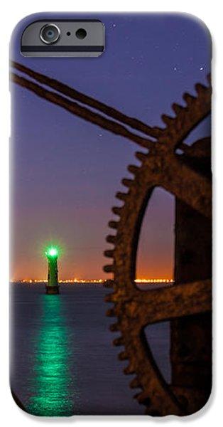 Cogwheel Framing iPhone Case by Semmick Photo