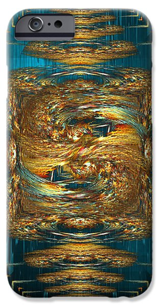 Coherence - abstract art by Giada Rossi iPhone Case by Giada Rossi