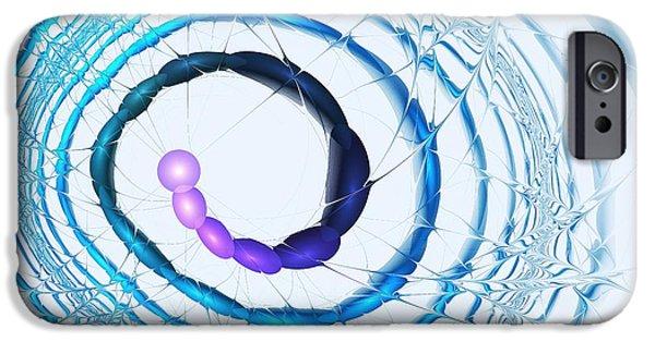 Mind iPhone Cases - Coiled iPhone Case by Anastasiya Malakhova