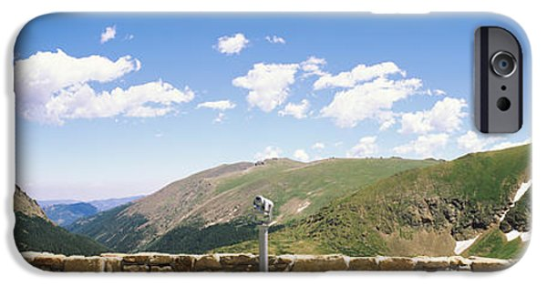 Operating iPhone Cases - Coin Operated Binoculars On An iPhone Case by Panoramic Images