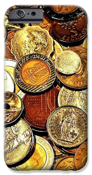 Coinage iPhone Case by Benjamin Yeager