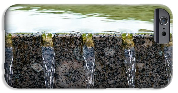 Effervescence iPhone Cases - Cold And Clear Water - Featured 3 iPhone Case by Alexander Senin