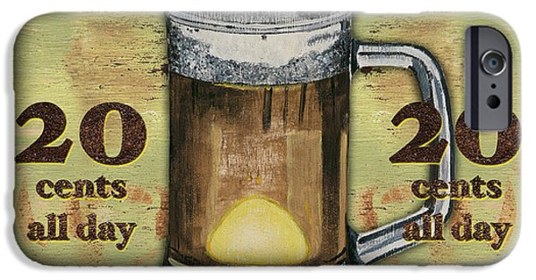 Drink iPhone Cases - Cold Beer iPhone Case by Debbie DeWitt