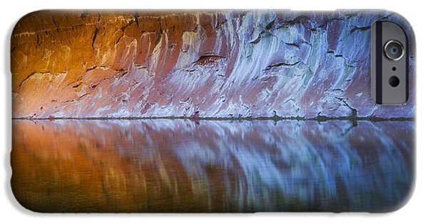 West Fork Photographs iPhone Cases - Cold Fire iPhone Case by Peter Coskun