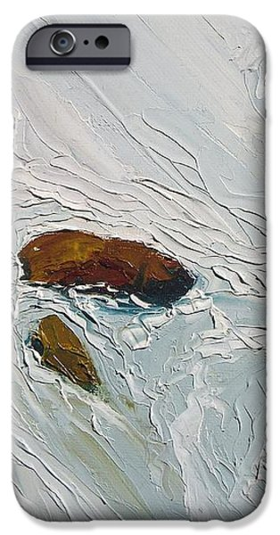 Cold Stream iPhone Case by Dwayne Gresham