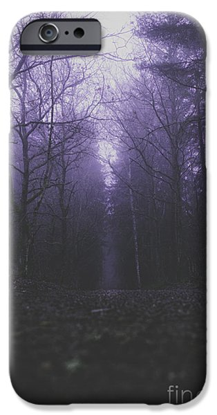 Forest iPhone Cases - Cold streets iPhone Case by Happy Melvin