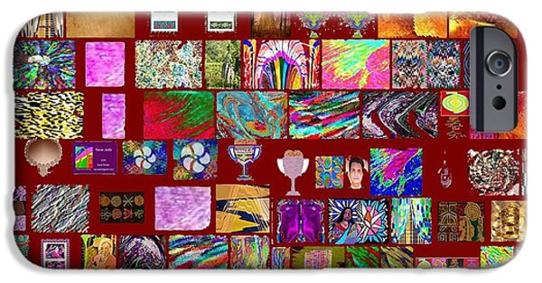 Politician iPhone Cases - Collage of NAVIN Joshi Art from Google Search iPhone Case by Navin Joshi