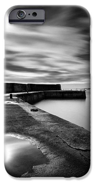 Collieston Breakwater iPhone Case by Dave Bowman