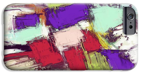 Loose Style Digital iPhone Cases - Collision iPhone Case by Keith Mills