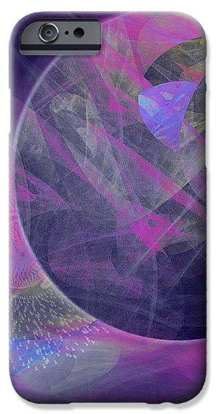 Collision iPhone Case by Victoria Harrington
