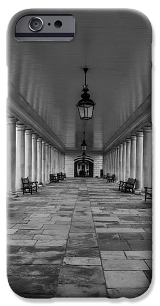 White House iPhone Cases - Columns Queens House Greenwich iPhone Case by Claire  Doherty