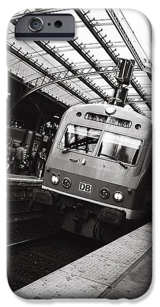 Cologne Trainstation iPhone Case by Jimmy Karlsson