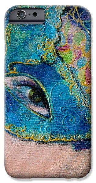 Colombina's Sight iPhone Case by Dorina  Costras