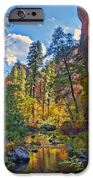 West Fork iPhone Cases - Color Blast iPhone Case by Brian Lambert