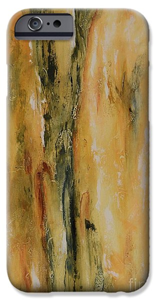 Dream Scape iPhone Cases - Color harmony 09 iPhone Case by Emerico Imre Toth