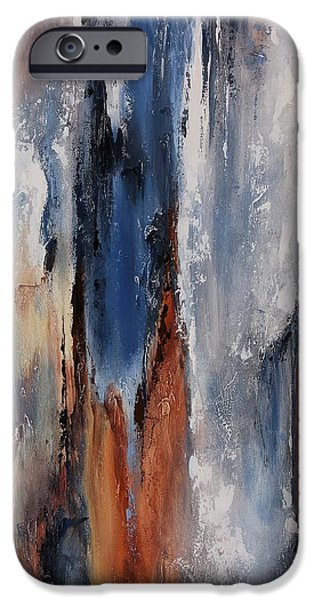 Dreamscape iPhone Cases - Color harmony 06 iPhone Case by Emerico Imre Toth