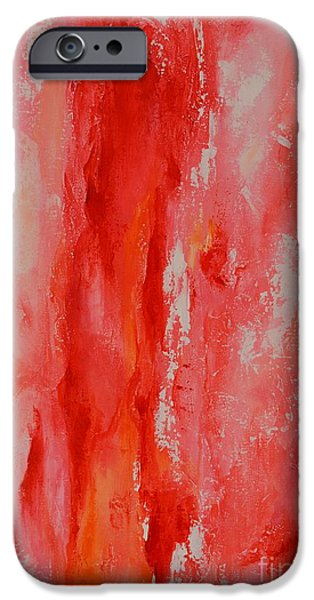 Dream Scape iPhone Cases - Color Harmony 14 iPhone Case by Emerico Imre Toth