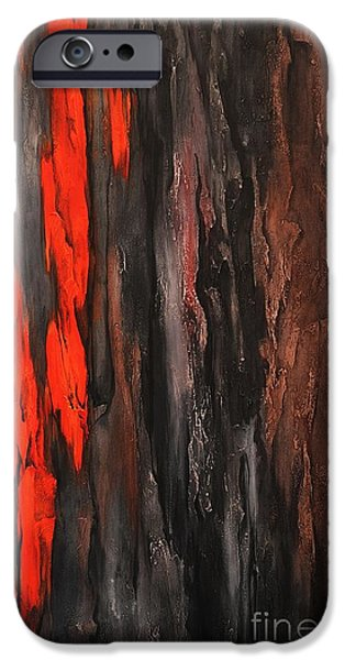 Dream Scape iPhone Cases - Color Harmony 18 iPhone Case by Emerico Imre Toth