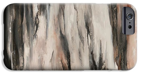 Dream Scape iPhone Cases - Color Harmony 19-21 square mix iPhone Case by Emerico Imre Toth