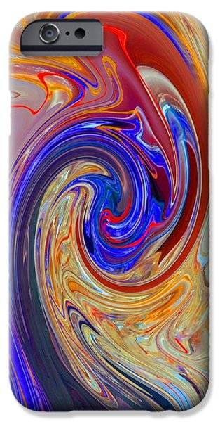 Torn iPhone Cases - Color Magic iPhone Case by Marcia Lee Jones