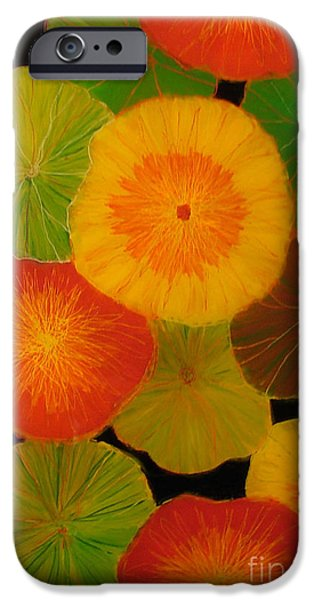 color splash 5 iPhone Case by Anna Skaradzinska