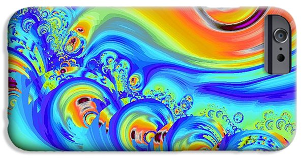 Symbols iPhone Cases - Color Splash iPhone Case by Anastasiya Malakhova