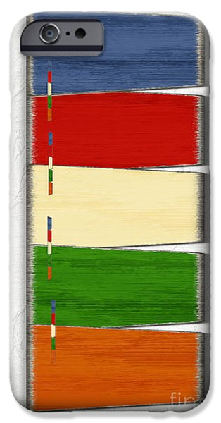 Multimedia iPhone Cases - Color Swatches iPhone Case by Tina M Wenger