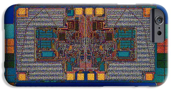 Mainboard iPhone Cases - Color Theory iPhone Case by Steve Emery