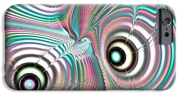 Pastel iPhone Cases - Color Waves iPhone Case by Anastasiya Malakhova